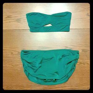VS H&M Bandeau Bikini Top Bottoms S 4 6